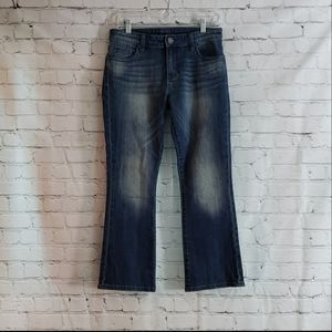 Kut from the Kloth Reese Crop Flare Jeans